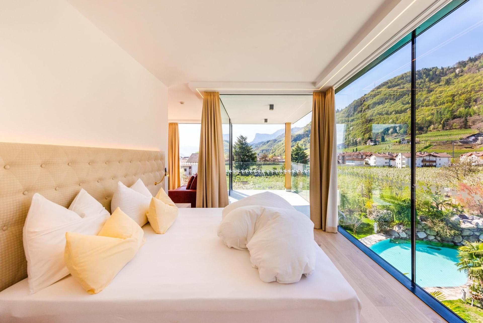 Hotel In Lana Sudtirol Hotel Gschwangut Bei Meran